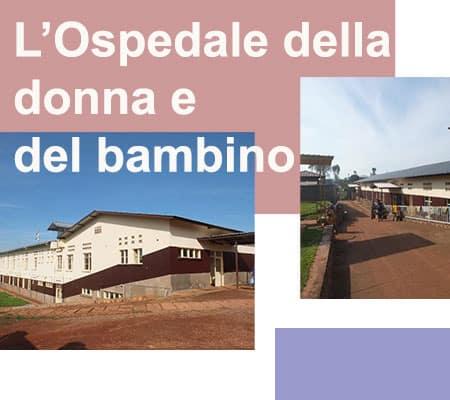ospedale della donnna e del bambini in Burundi