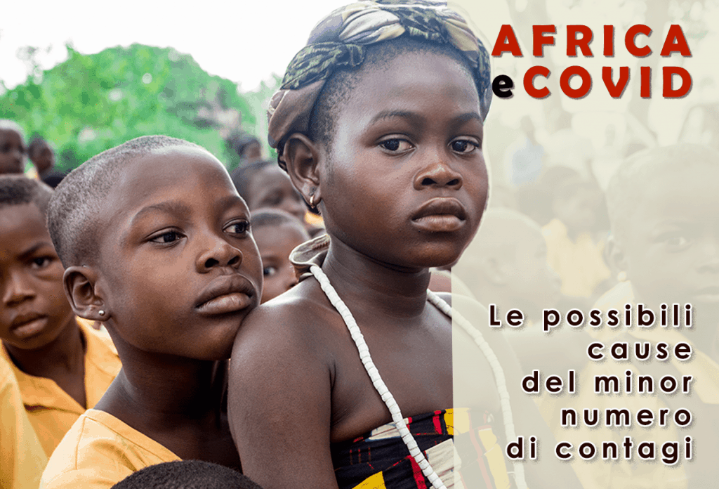 Effetti minori covid in Africa.
